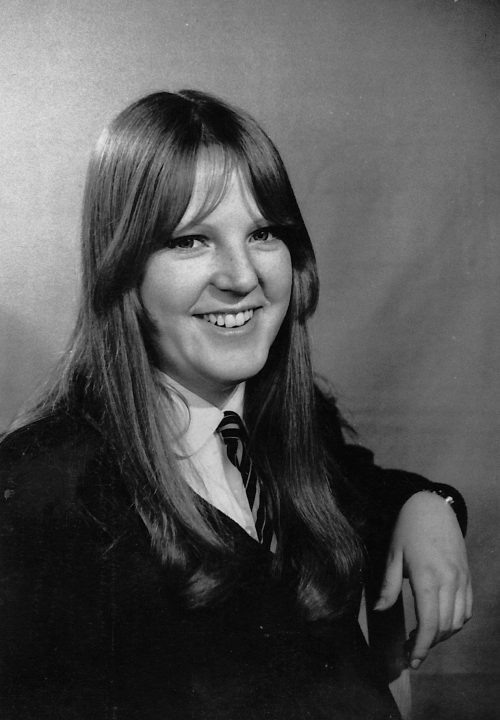 Margaret 1968, Coatbridge High School, House Captain Coltswood