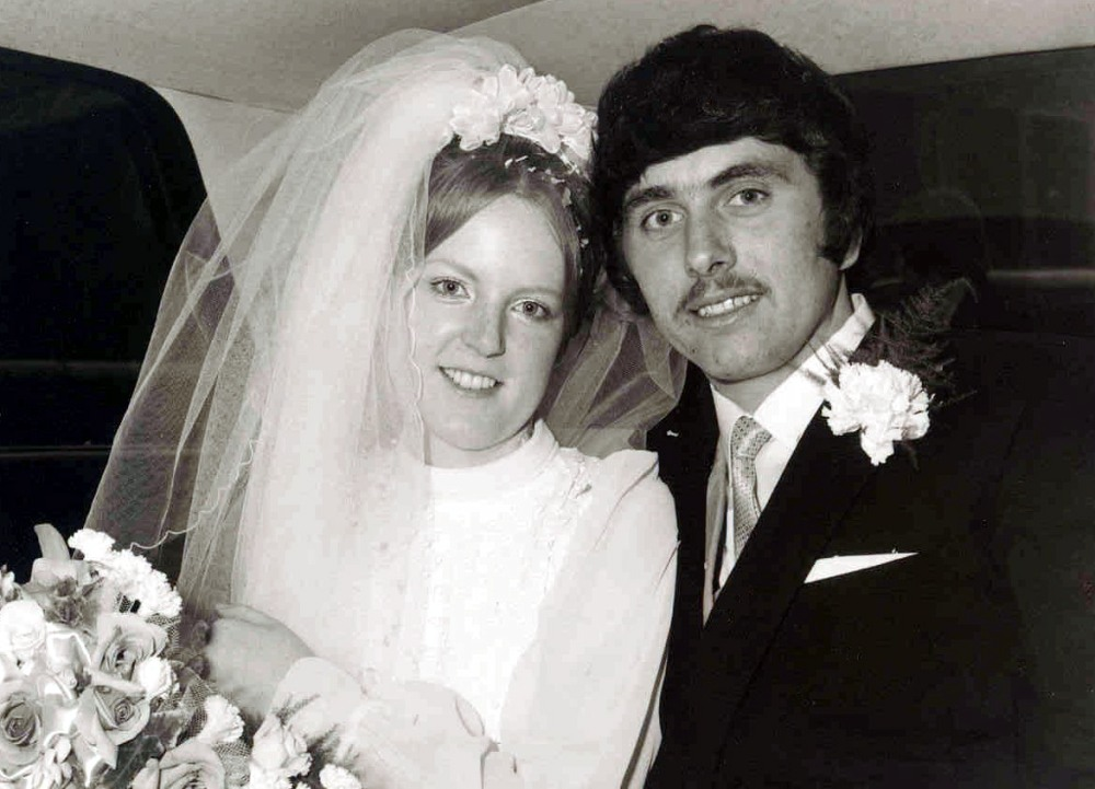 Our wedding day September 1970